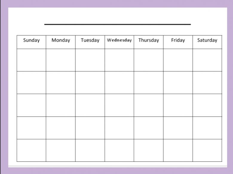 Calendar Template For Kids Calendar 2017 Template  xjb
