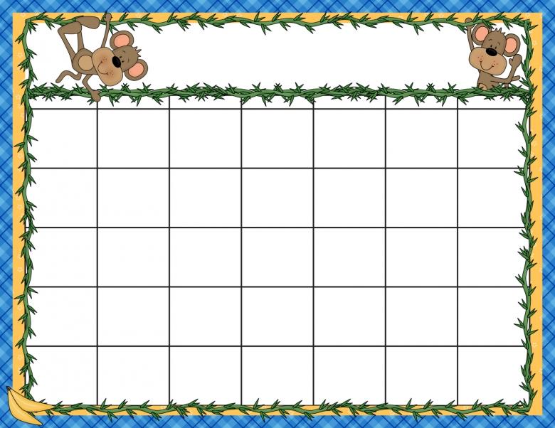 Free Printable Calendar Templates For Kids Free Worksheet Ideas  xjb