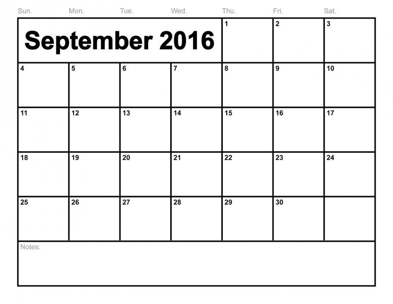 In September Calendar3abry