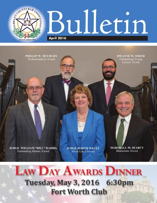 Tarrant County Bar Association February 2016 Bar Bulletin  xjb