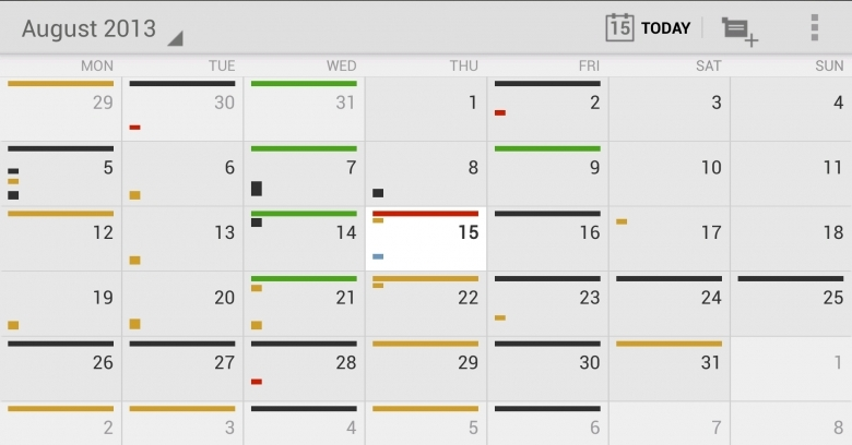 12 Of The Best Calendar Apps Available For Your Android Smartphone  xjb