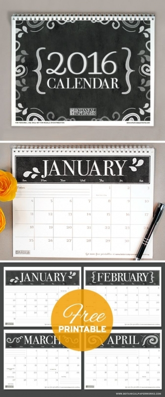 17 Best Images About Calendars On Pinterest Free Printable  xjb