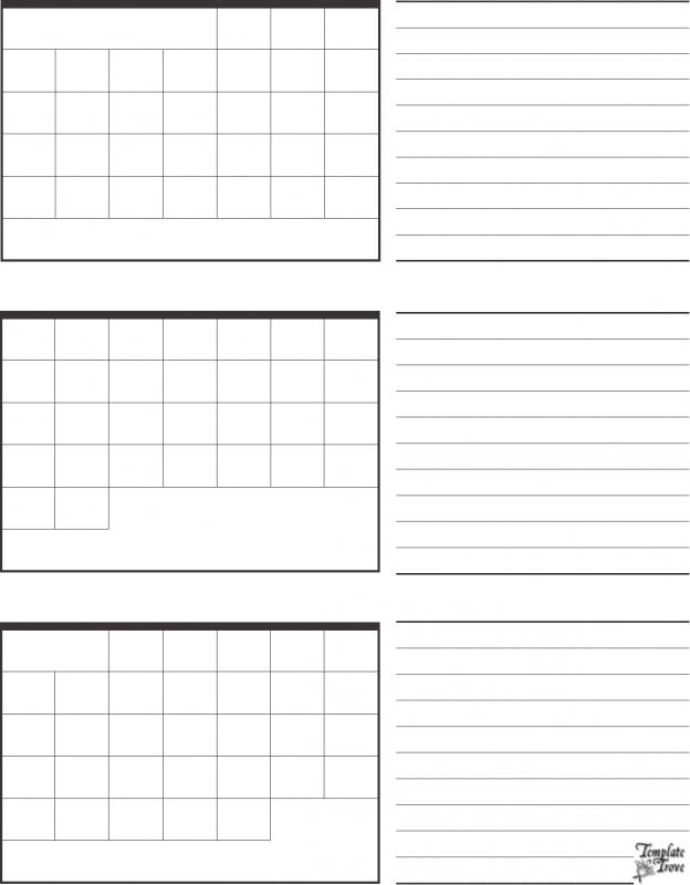 multiple month calendar template - three month calendar template free calendar template