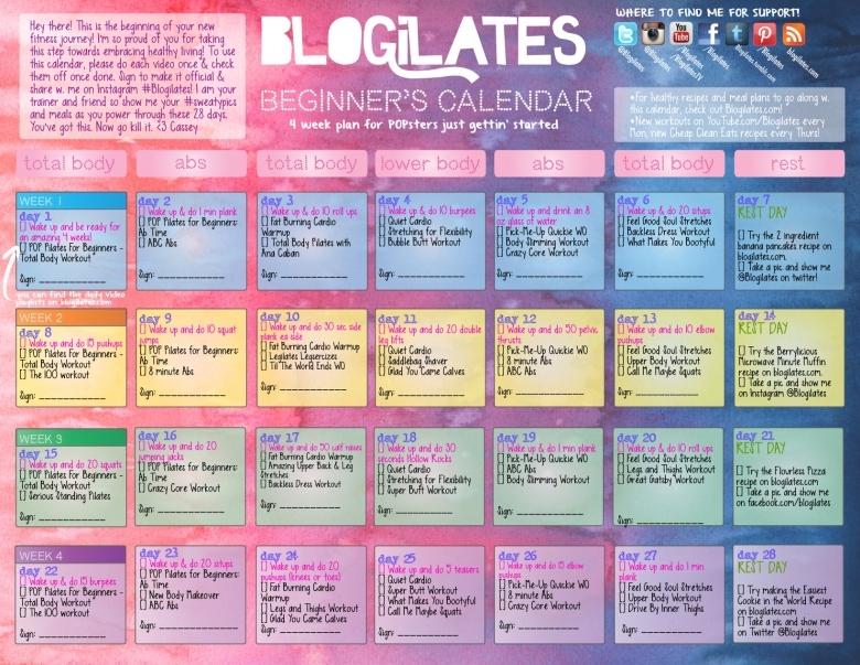 Beginners Calendar  xjb