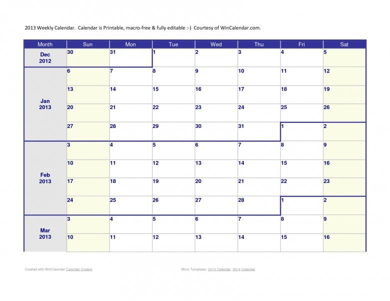 Calendar Three Month Calendar Template3abry