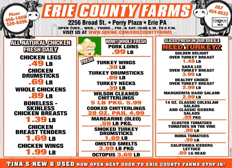 Erie County Farms Weekly Ad 02062017 02122017  xjb