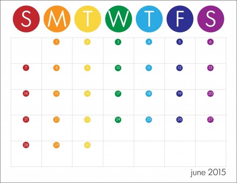 2014 2015 School Year Calendar For Kids Free Live Craft Eat  xjb