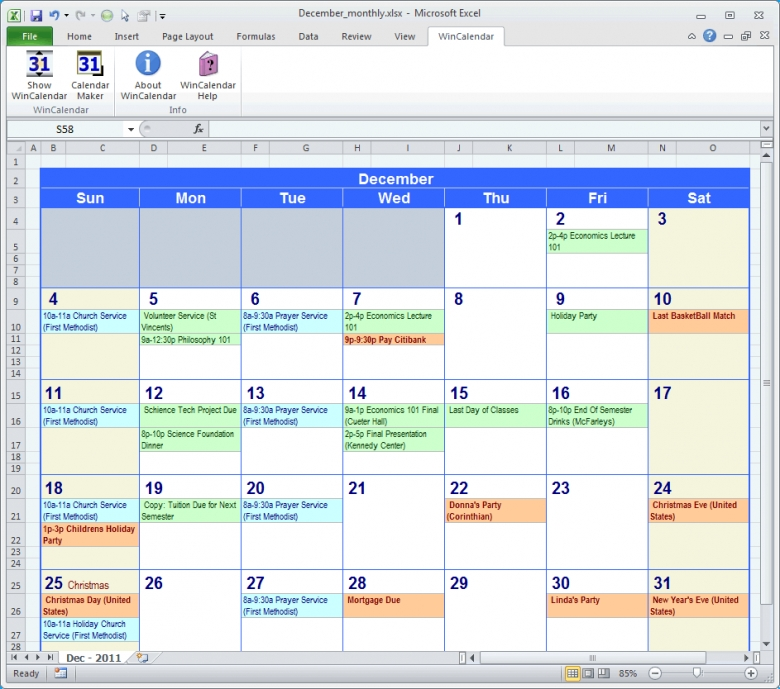 calendar maker calendar creator for word and excel 3abry 1