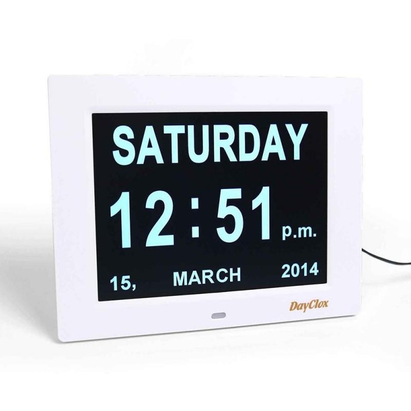Dayclox International Digital Calendar Day Clock  xjb