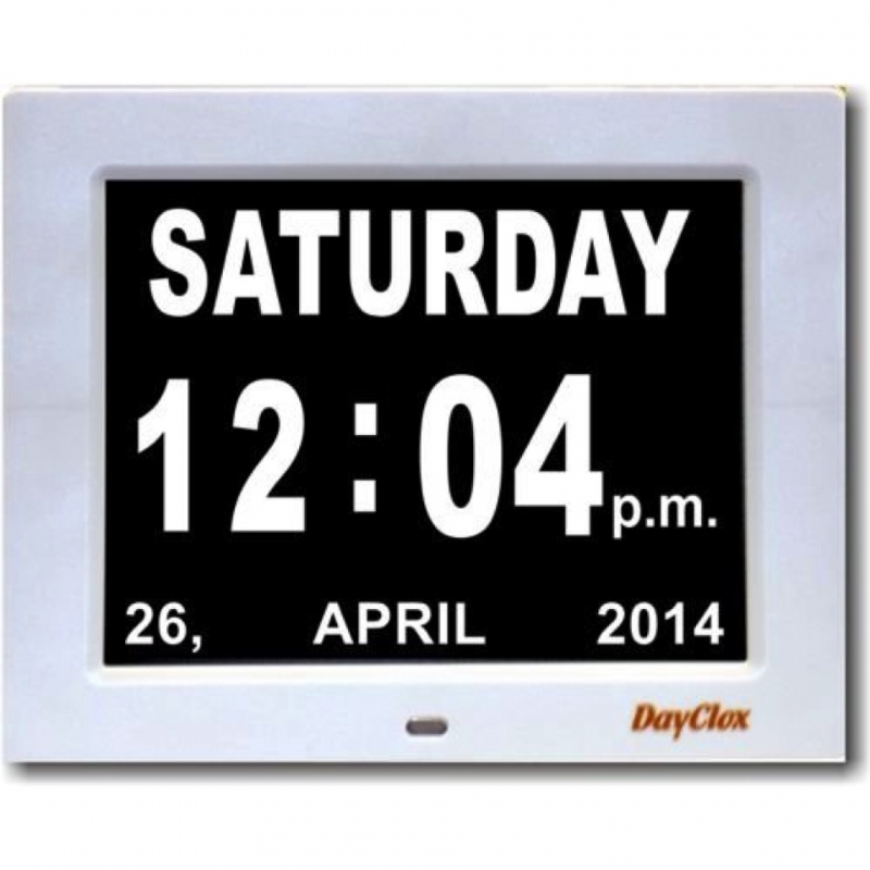 Digital Calendar Day Clock Dementia Forum  Xjb