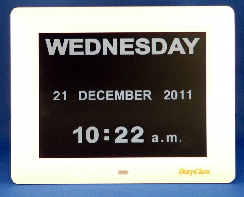 Large Digital Wall Clock With Day And Date  xjb