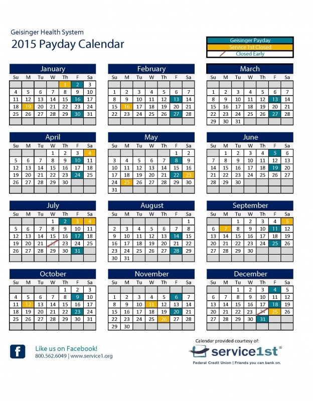 Pay Period Calendar 2016 Federal Government Blank Calendar  xjb