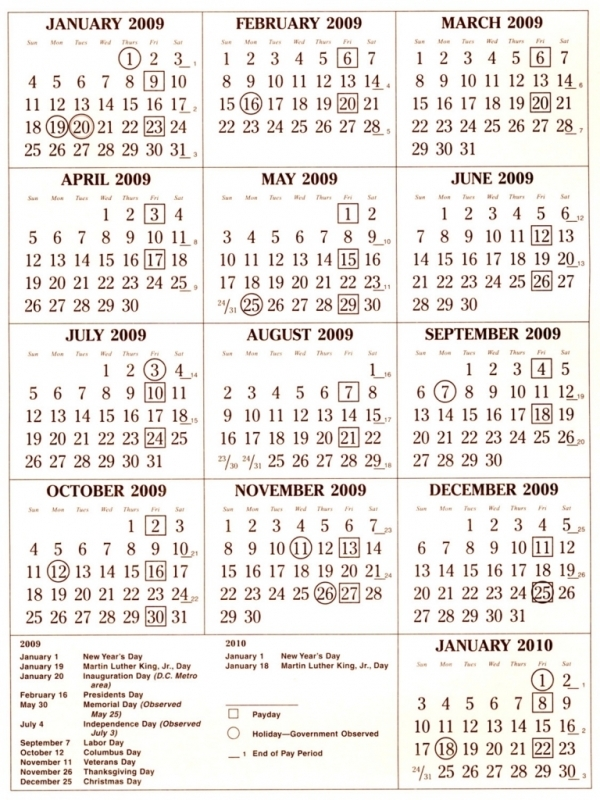 Pay Period Calendar 2016 Federal Government Calendar Printable 2017  xjb