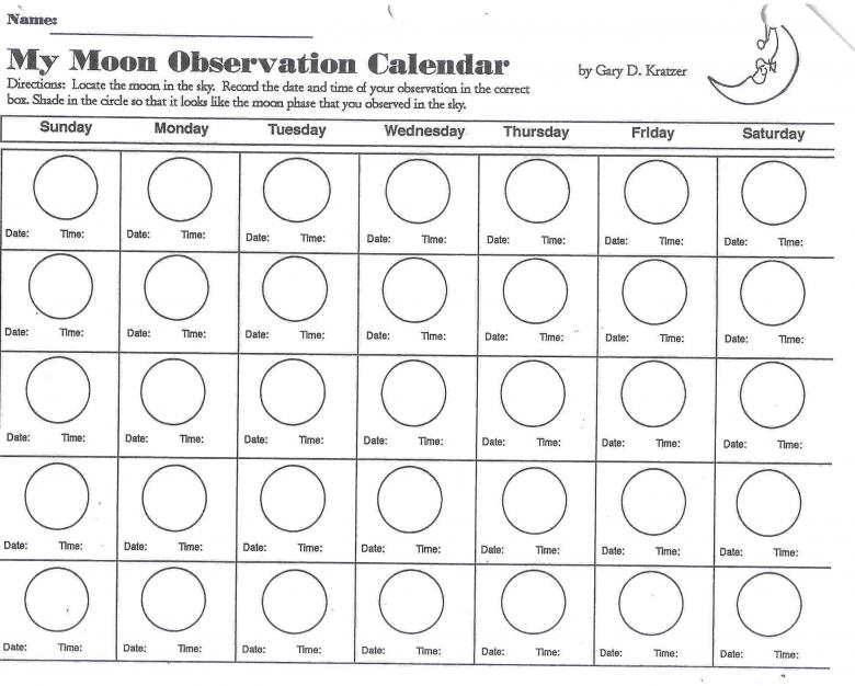 Calendar with moon phases printable free calendar template for Lunar fishing calendar 2017