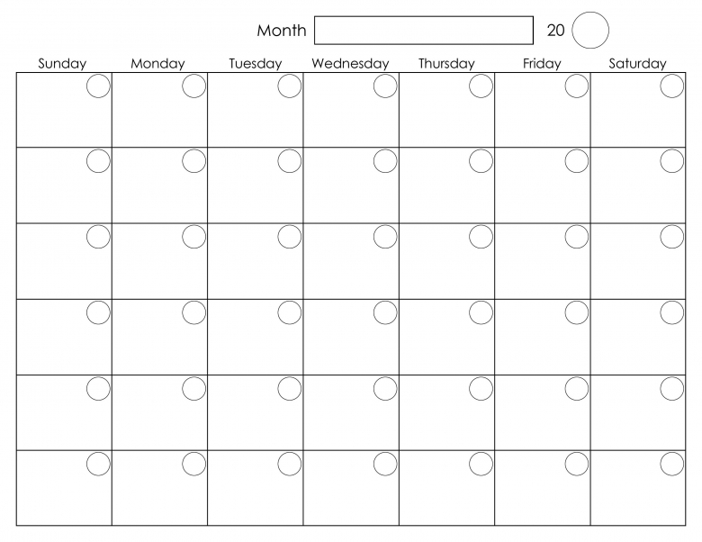 Similiar Blank Monthly Calendars To Print Keywords  xjb