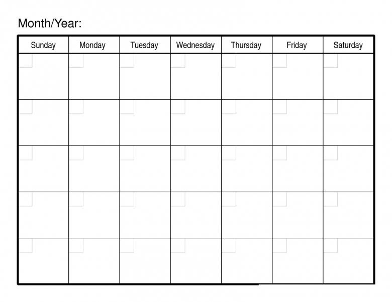 Monthly Calendar Printable Calendar Printable 2017  xjb