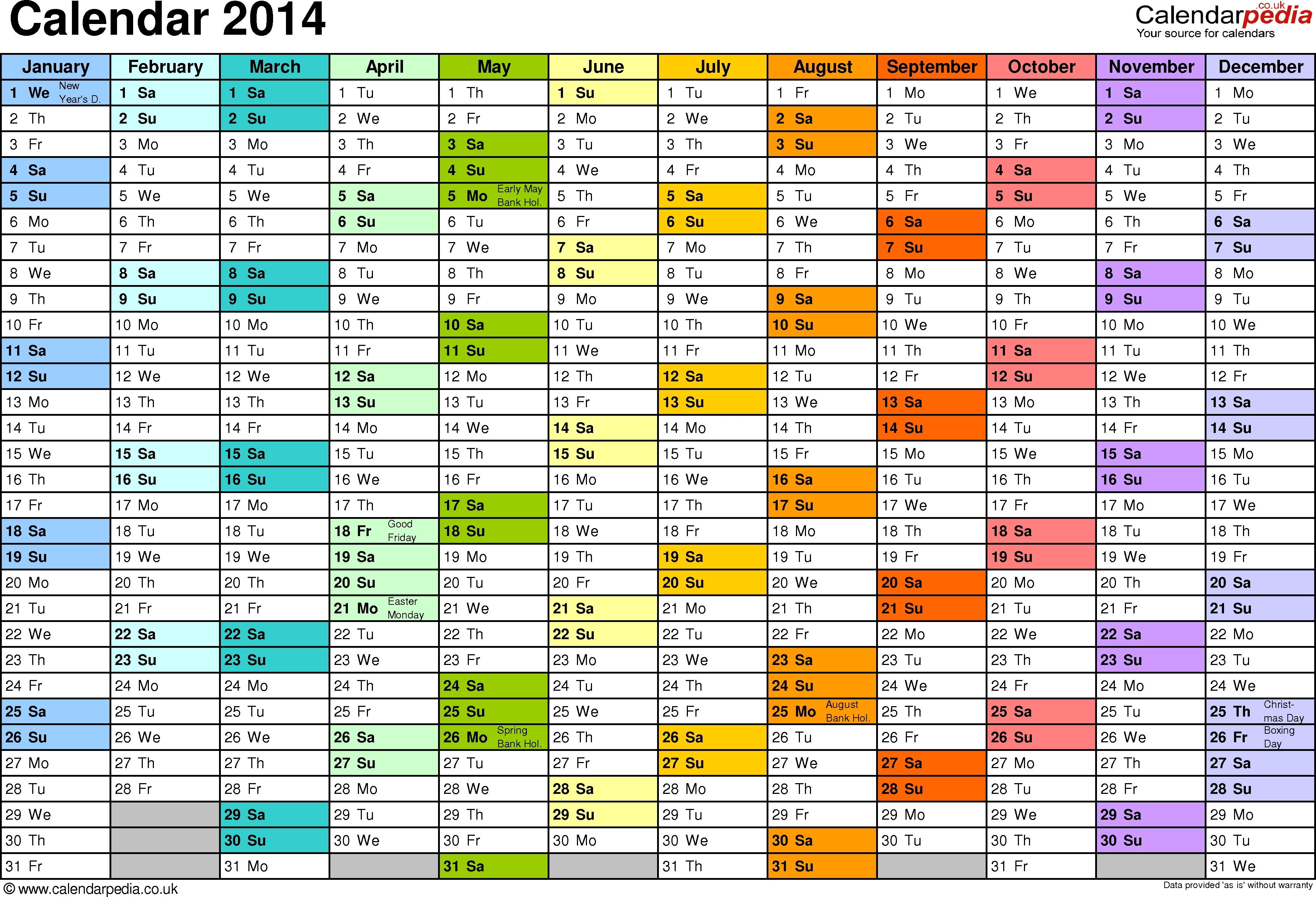 annual training calendar template free calendar template