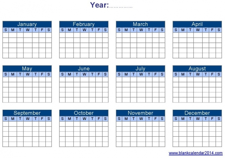 Yearly Calendar Template Word Calendar Printable Free  xjb