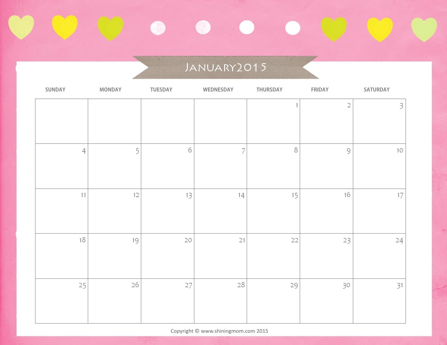 Pretty Printable Calendars Printable Online Calendar3abry