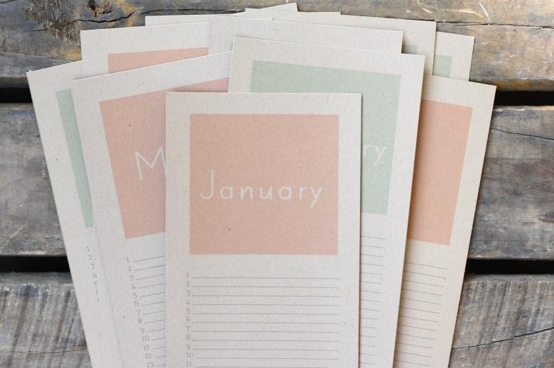 Perpetual Birthday Calendar Free Printable Ricedesigns  xjb