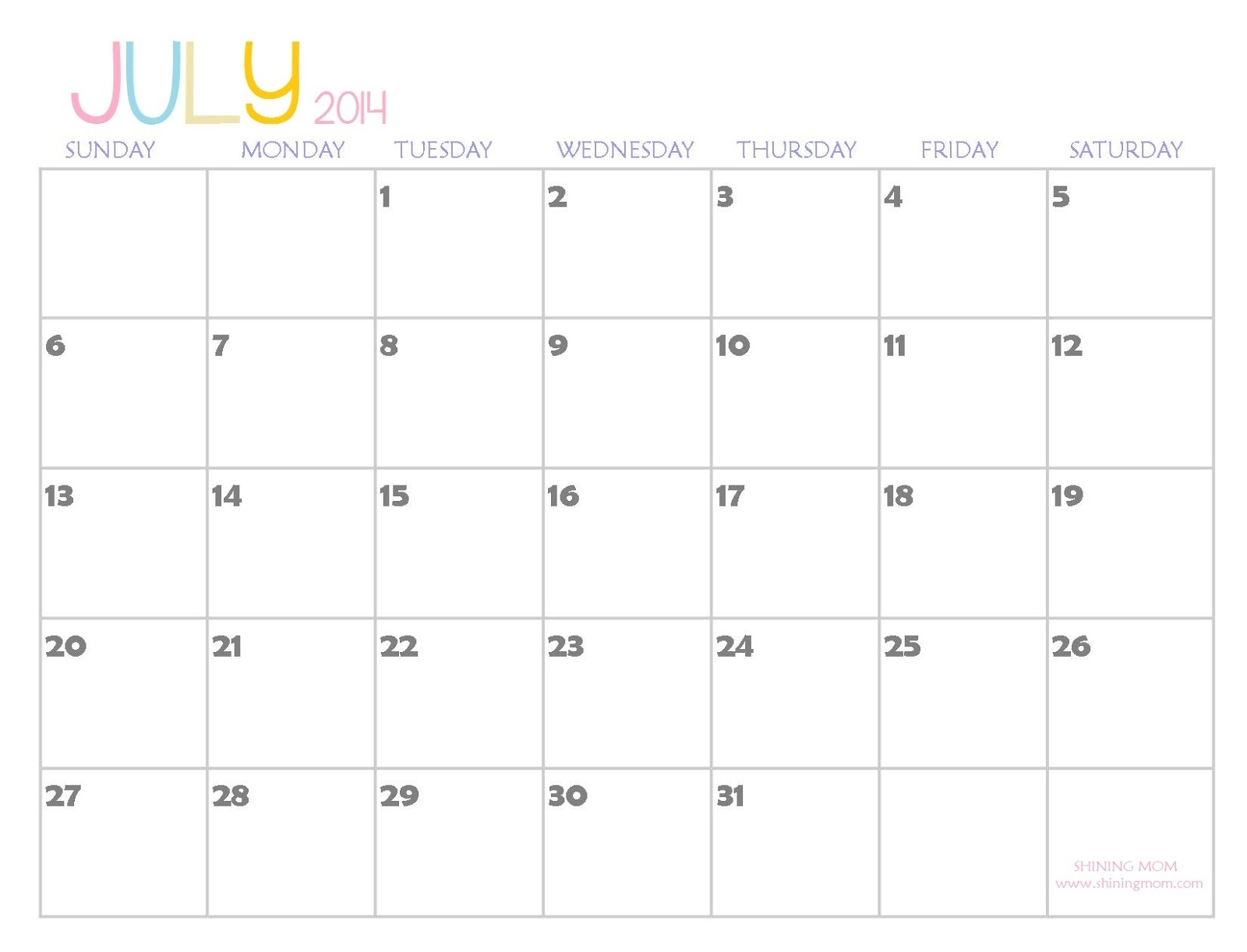 2014 Printable Calendars Fresh Designs  Xjb
