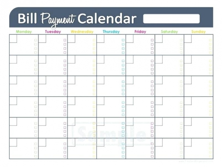 Bill Pay Checklist Topic Related To Monthly Bill Payment Checklist