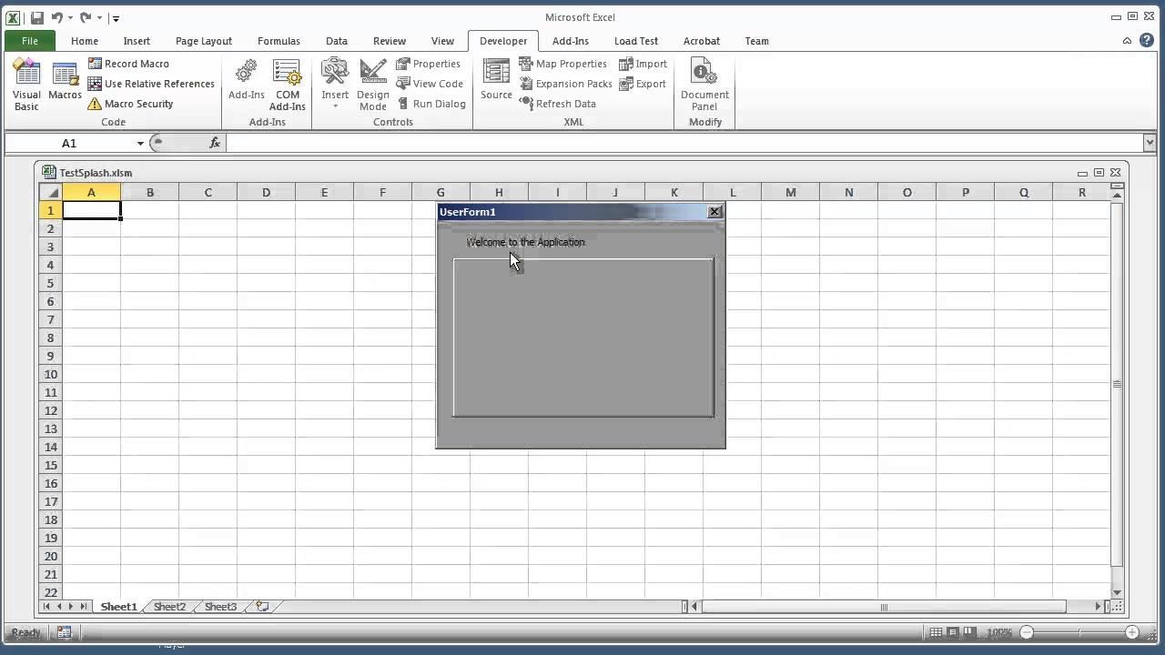 Excel 2010 Userform Templates 28 Images Vba Userform Sle 89uj