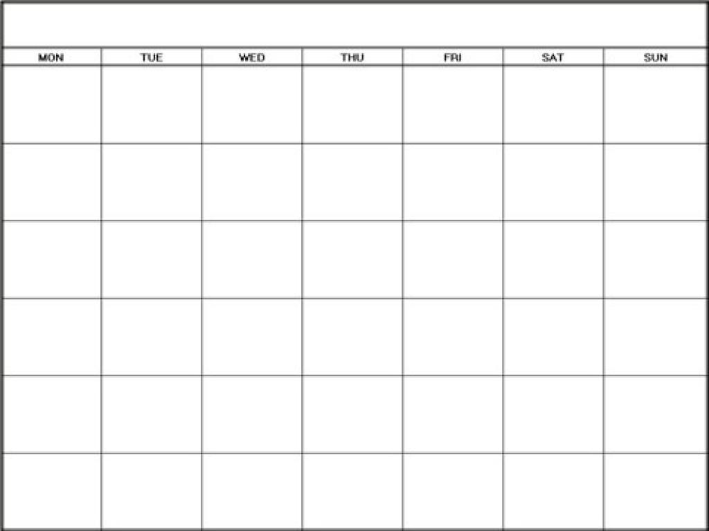 Free Printable Blank Calendar Template Pdf Word Calendar3abry