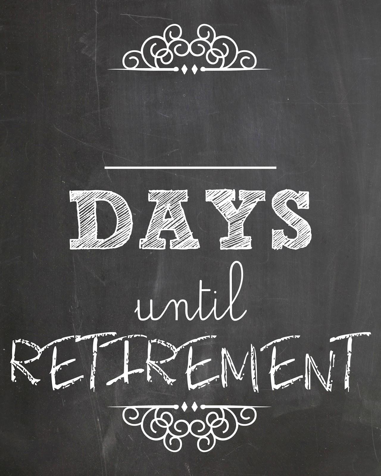 Free Printable Retirement Calendar Calendar Template 20173abry