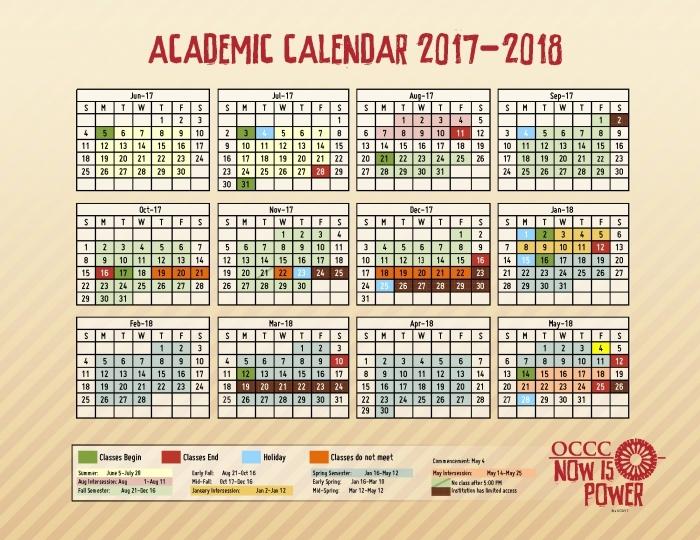 Grand Canyon University Acedemic Calendar Calendar Printable