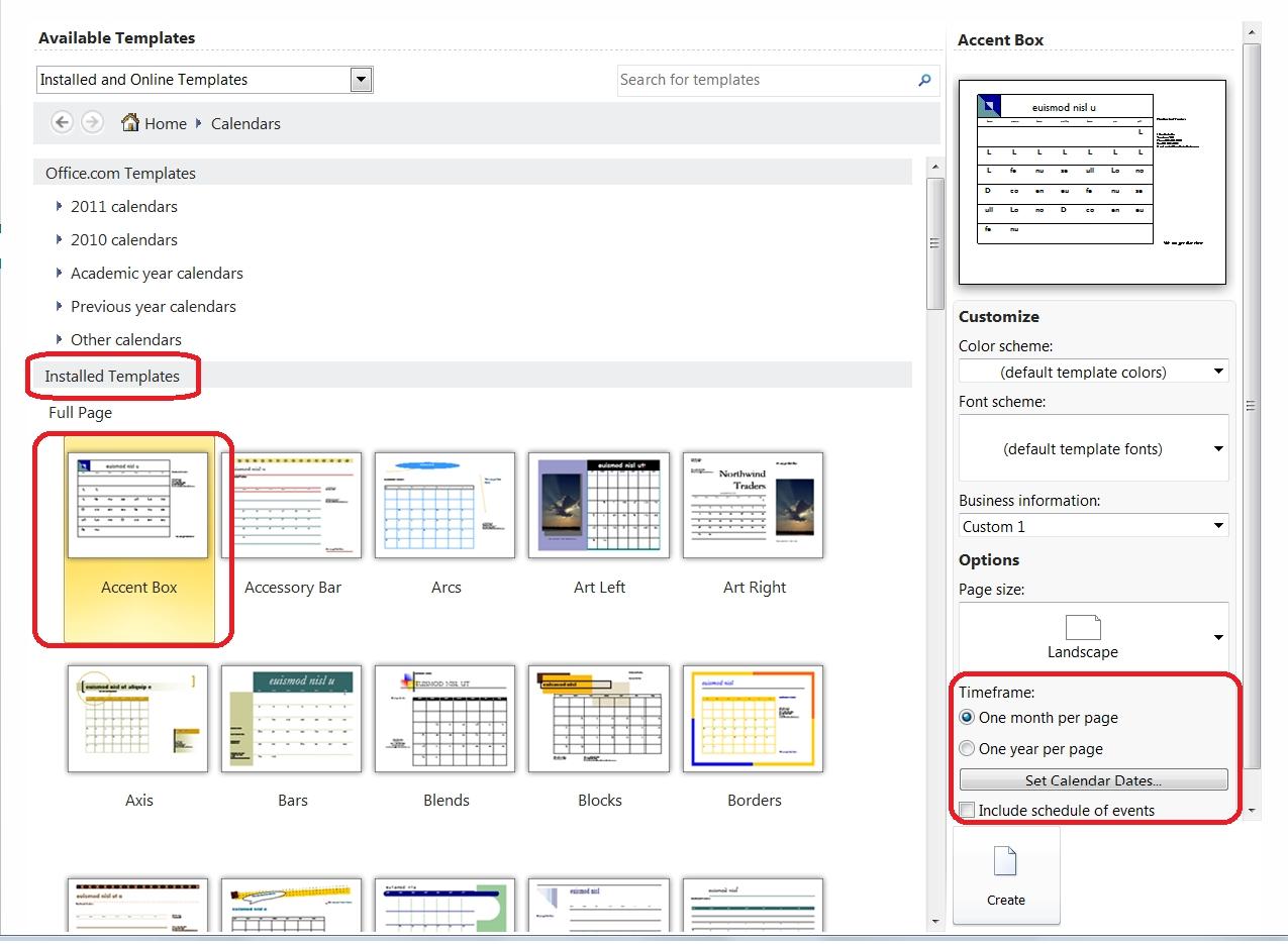 Publisher Calendar Templates Targergolden Dragonco