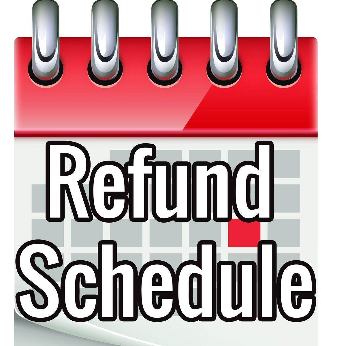 Refund Schedule Refundschedule Twitter