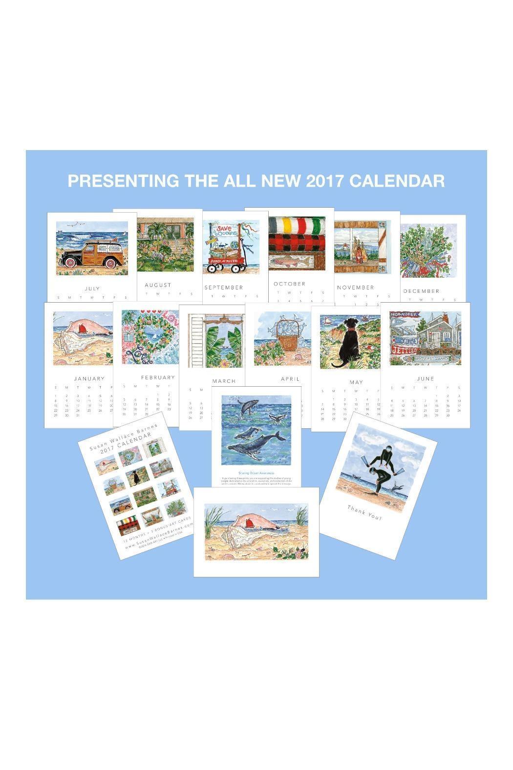 Susan Wallace Barnes 2017 Calendar From Cape Cod Fabvilla 89uj