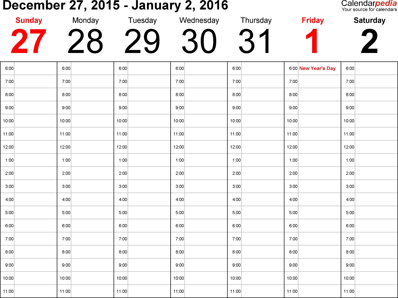 11 X 14 Blank Calendar Calendar Template 2017