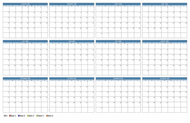 11x17 Calendar Northfourthwallco