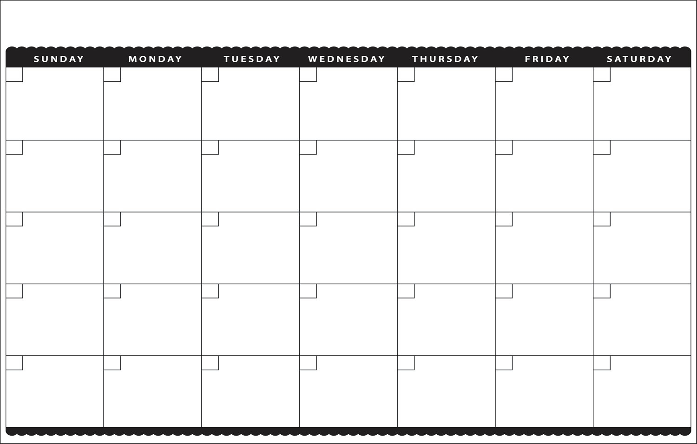 11x17 Calendar Template Papellenguasalacartaco