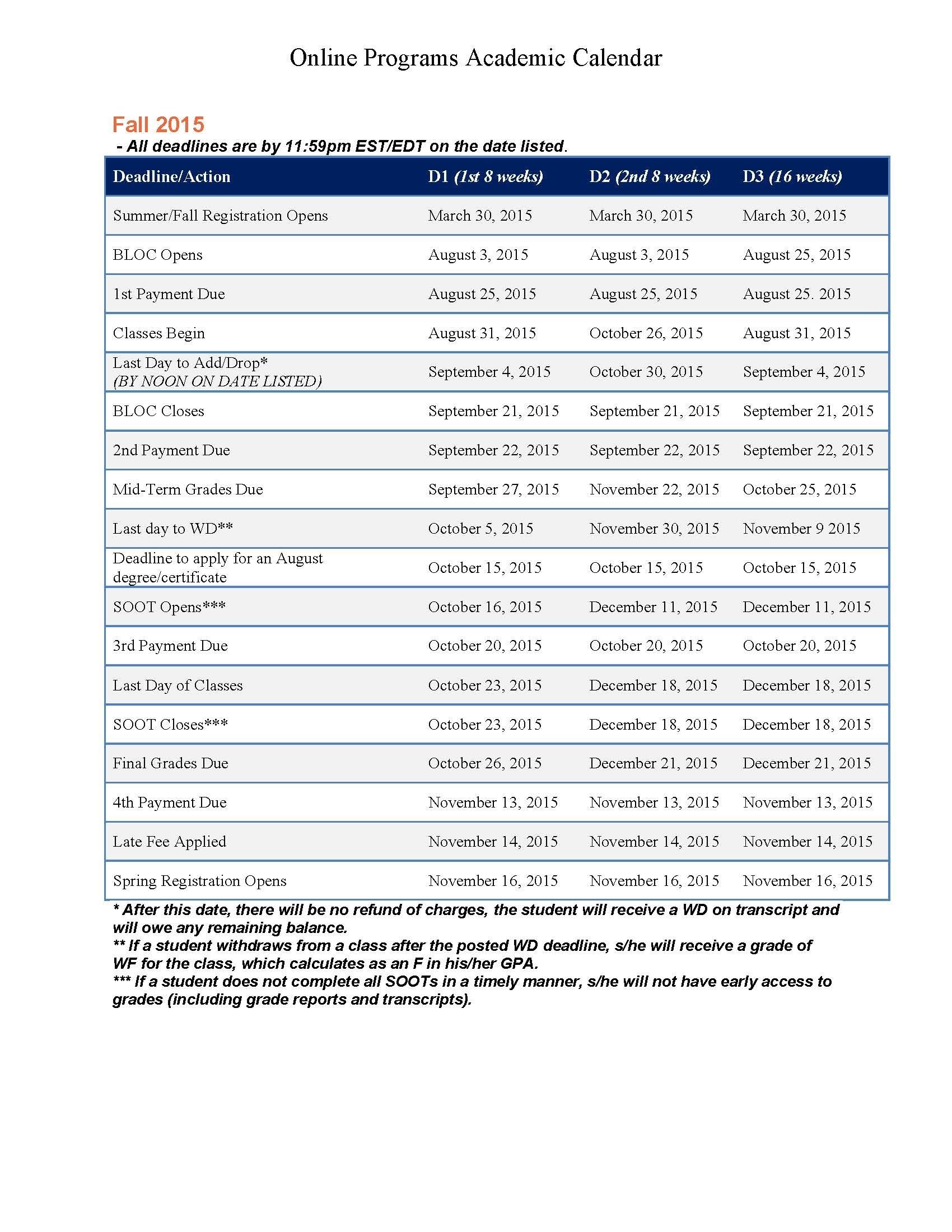 2015 2016 Academic Calendar Utica College Acalog Acms Shoot Design 89uj