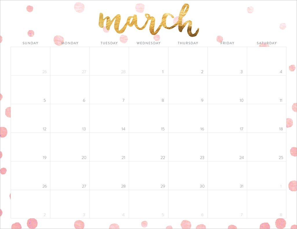2017 Free Printable Calendars Popsugar Smart Living3abry