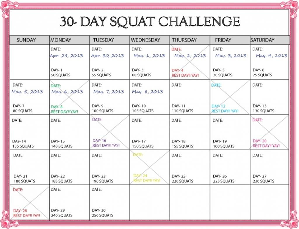 30 Day Shred Calendar Online Calendar Templates3abry