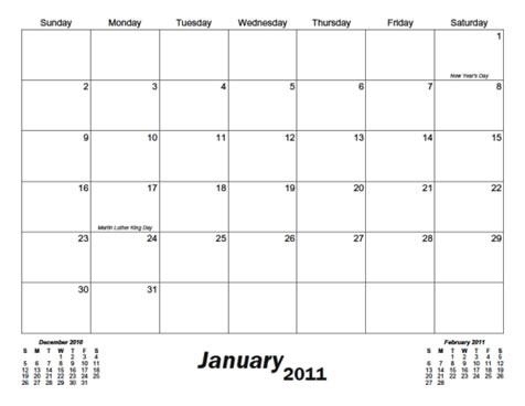 31 Day Blank Calendar Printable Blank Calendar Design 2018