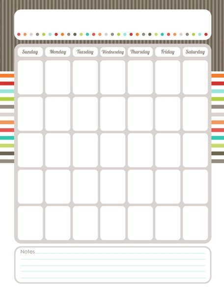 Best 25 Blank Calendar Ideas On Pinterest Free Blank Calendar