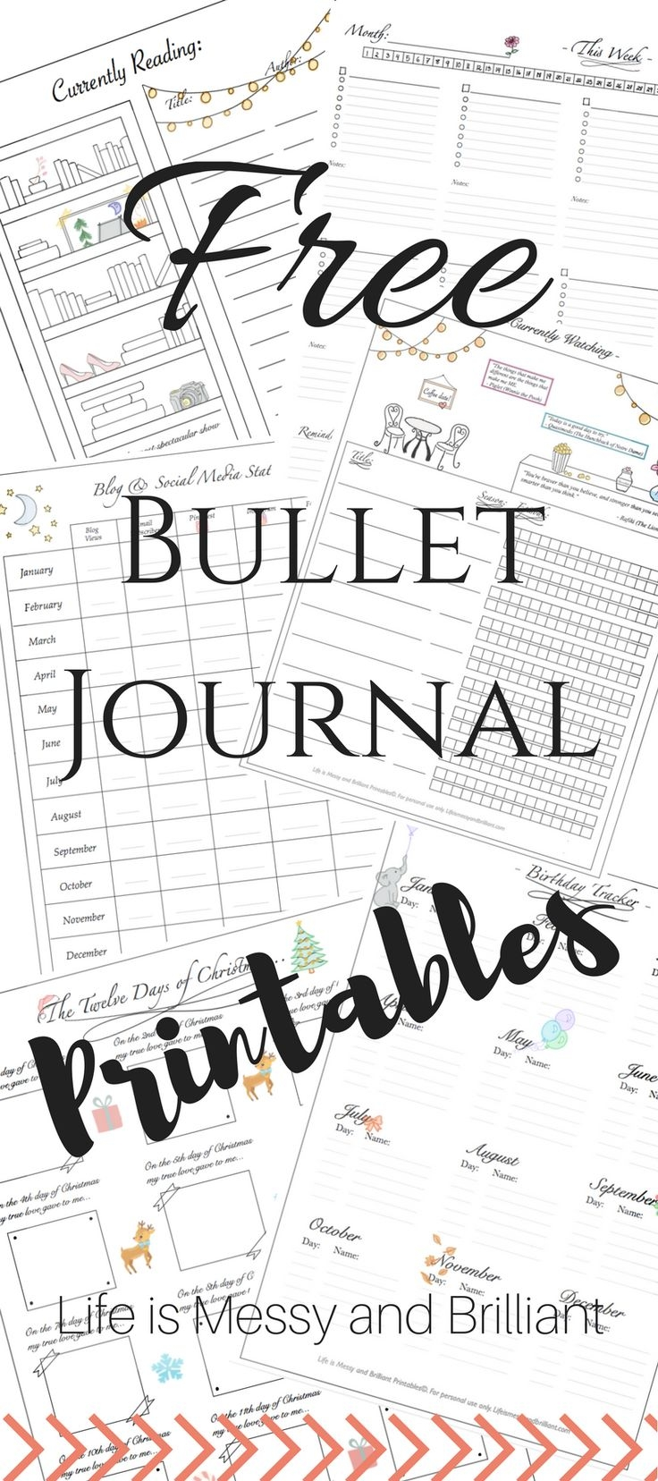 Best 25 Bullet Journal Printables Ideas On Pinterest Agenda