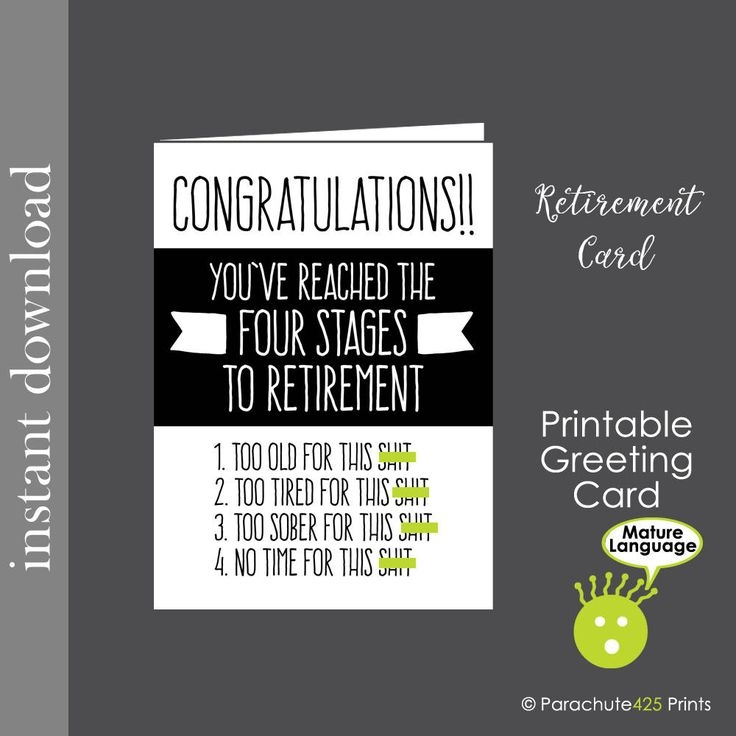 Best 25 Funny Retirement Cards Ideas On Pinterest Funny