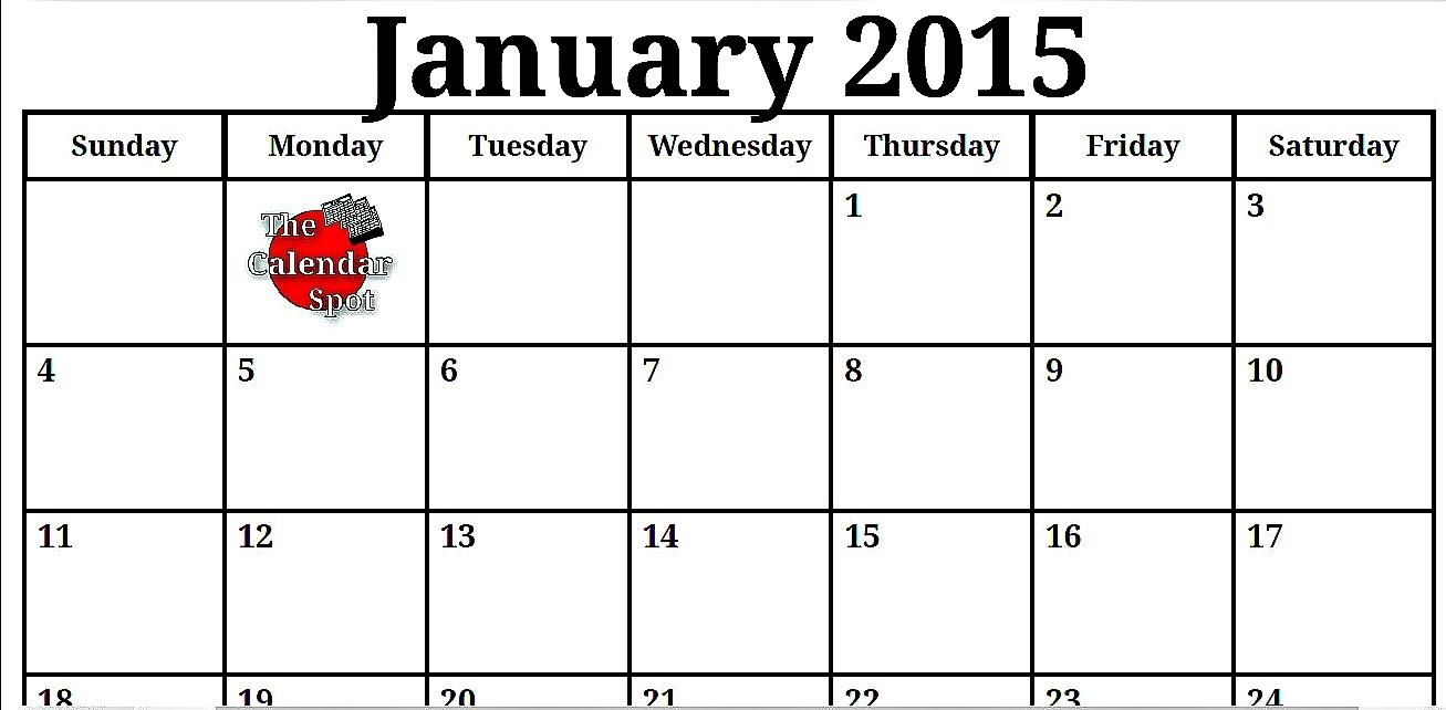 Best Photos Of Blank Calendar Jan 2015 Blank Calendar January3abry