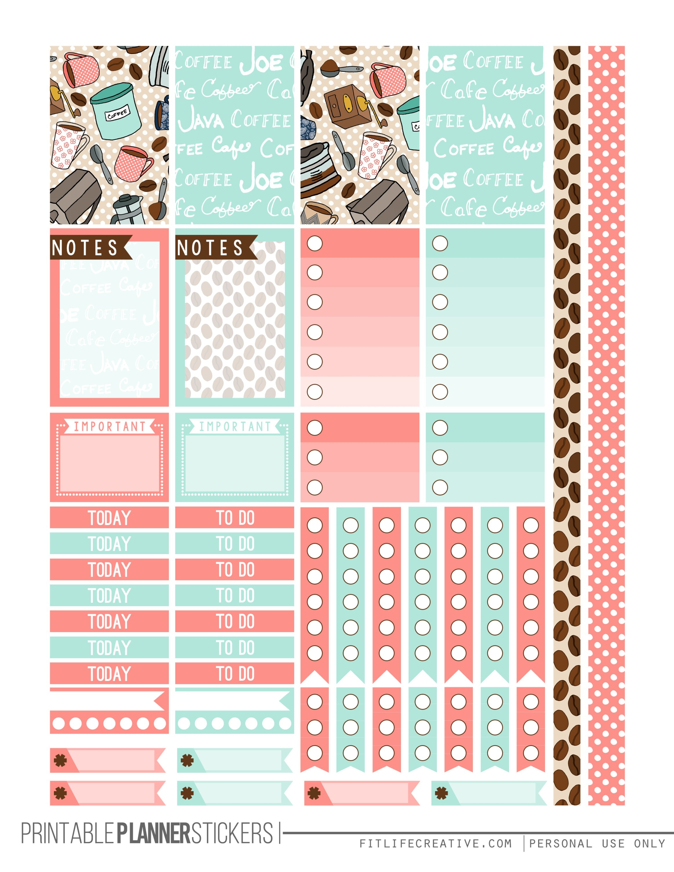 But First Coffee 1 Planner Stickers Ima Stick Witu  Xjb