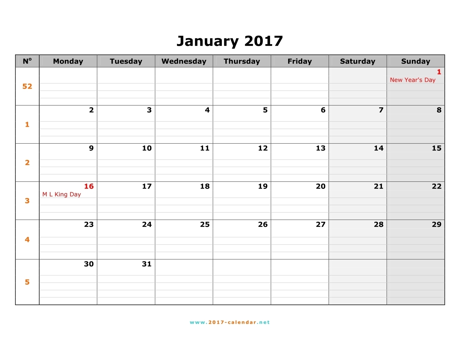 Calendar Monday Commonpenceco  Xjb