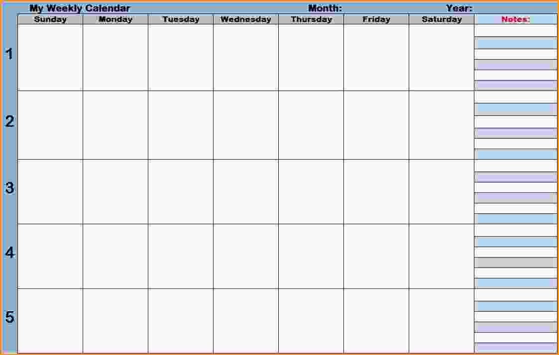 Calendar Time Zone Planner : Weekly planner with time slots printable free calendar