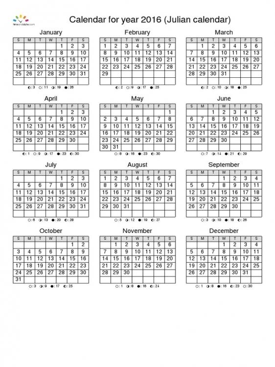 Calendario Dia Juliano 2018 Calendar Printable Template