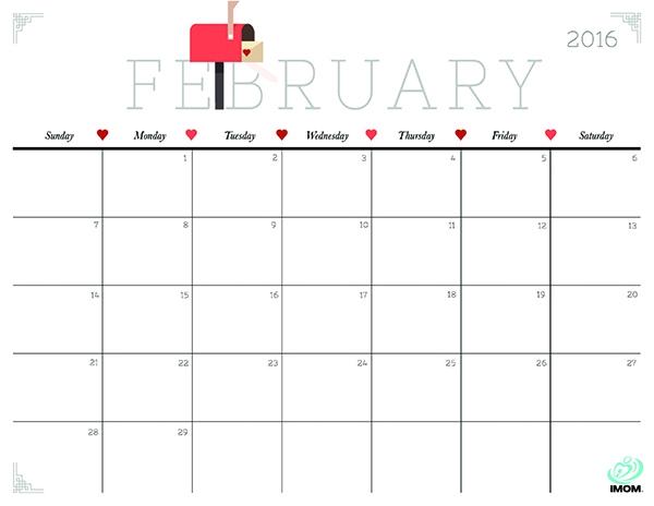 Cute And Crafty 2018 Calendar Printable Calendars Simple Gifts