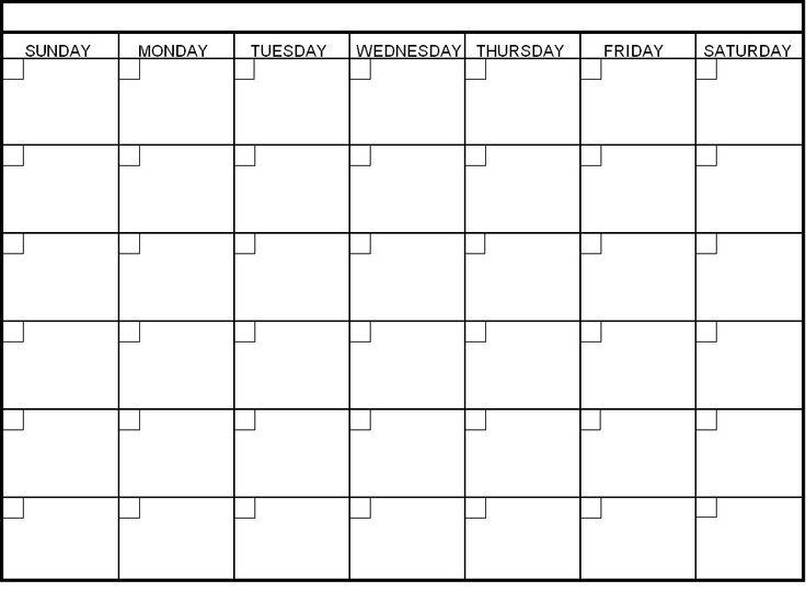 Day Day Calendar Printable Commonpenceco